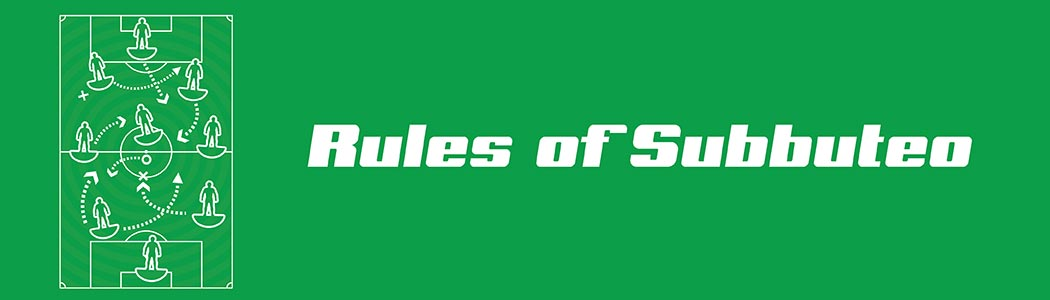 Rules of Subbuteo